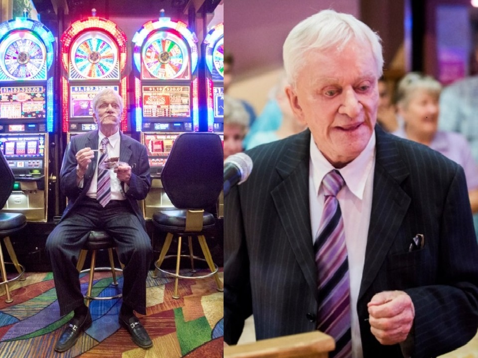 Don Laughlin, founder and owner of Riverside Resort Hotel & Casino